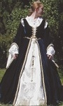Celtic court dress